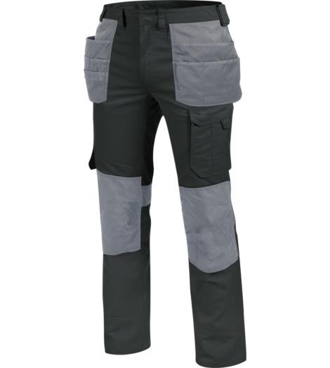 Bundhose mit vielen Taschen, Bundhose ISO 15797, Bundhose aus hochwertigem Material, Bundhose anthrazit, Bundhose mit Holstertaschen