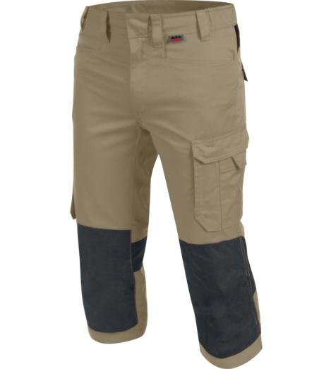 foto di Pantalone da lavoro 3/4 Cetus beige