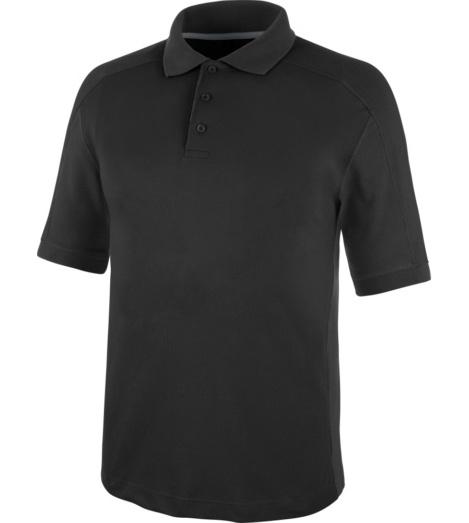 Weiches Poloshirt, atmungsaktives Poloshirt, Poloshirt Standard 100 by OEKO-TEX Zertifizierung, Poloshirt schwarz, bequemes Polo T-Shirt