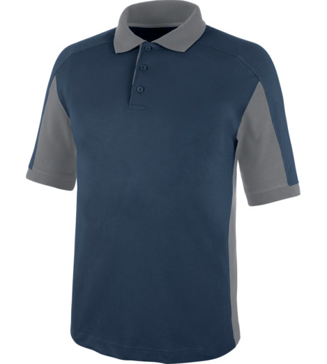 Modernes Poloshirt, bequemes Poloshirt, Poloshirt  für Handwerker, Poloshirt ISO 15797, Poloshirt Standard 100 by OEKO-TEX, Poloshirt marineblau, sportliches Poloshirt