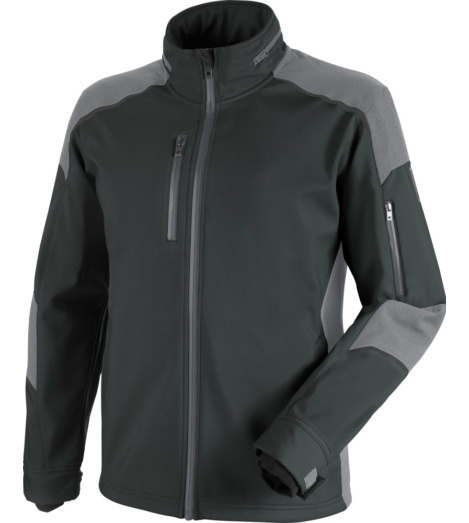 Photo de veste softshell de travail cetus würth modyf anthracite/grise