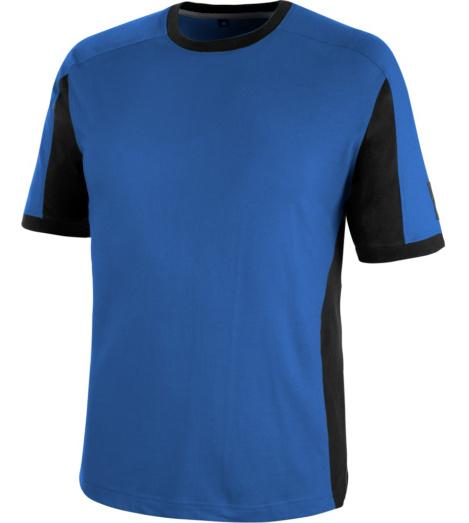 Metallfreies T-Shirt, T-Shirt mit hohem Tragekomfort, T-Shirt mit Bewegungsfreiheit, Arbeits-T-Shirt royalblau, Arbeits-T-Shirt Standard 100 OEKO-TEX