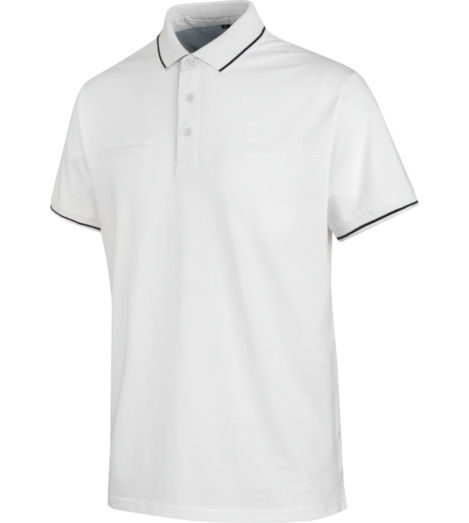 Photo de Polo de travail Jersey X Würth MODYF Blanc