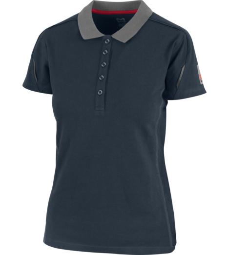 Foto von Poloshirt Stretch X Damen blau