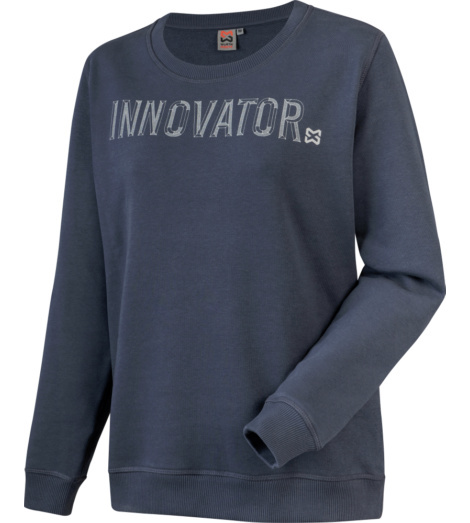 Foto von Langarmshirt Innovator Damen dunkelblau