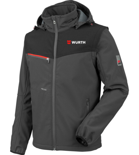 Foto von Würth Fanshop Softshelljacke Stretch X anthrazit