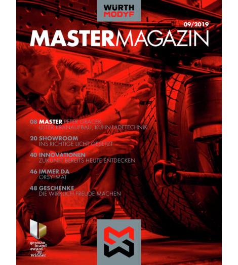 Foto von Würth MODYF Mastermagazin FS 2020 Deutsch