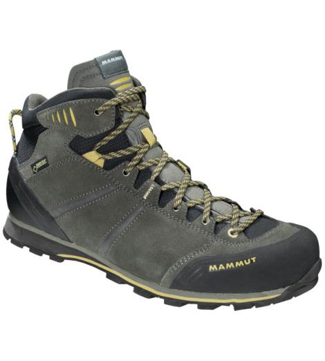 Foto von Mammut Wall Guide Mid GTX® Trekkingstiefel bark, tuff