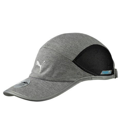 Foto von Puma Cool Laufcap medium grey, heather black