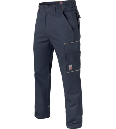 Bequeme Arbeithose marine, Bewegungsfreiheit und Tragekomfort, aus hochwertigeer Baumwolle, atmungsaktiv