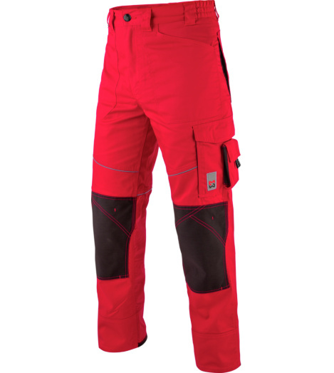 Photo de Pantalon de travail Starline Plus Würth MODYF rouge