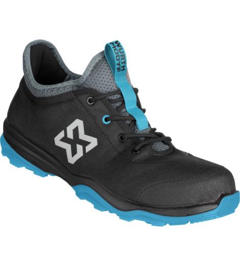 Recycelter Sicherheitsschuhe, sportlicher Sneaker-Optik, nachhaltigem Obermaterial