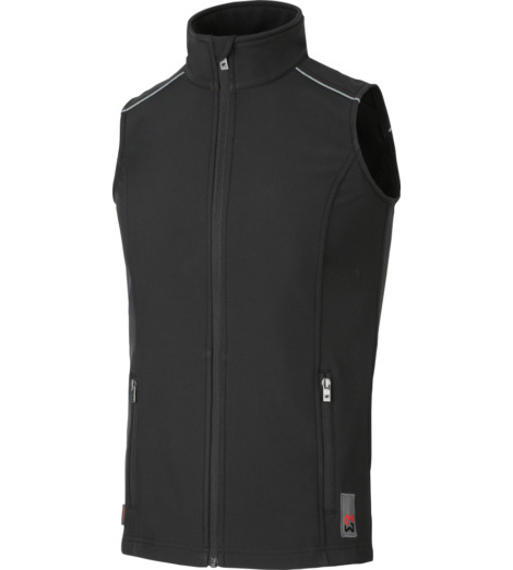 foto di Gilet City in softshell donna nero