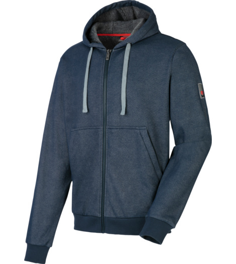 Foto von Sweatjacket Denim Blau