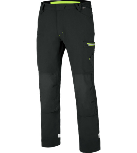 foto di Pantalone invernale Stretch Evolution antracite