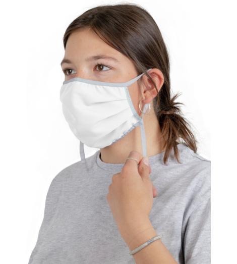 Foto von Waschbare Mundschutzmasken weiß 10 stück