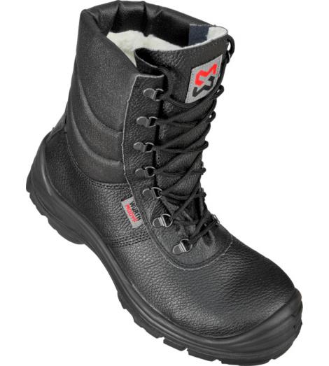 Foto von Winter Sicherheitsstiefel S3 SRC AS Baustiefel schwarz