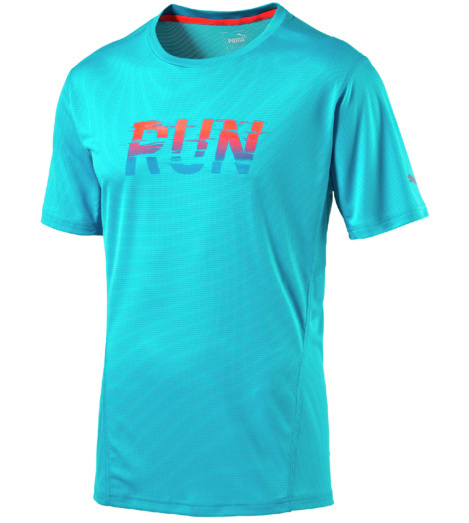 foto di T-shirt Run SS blu