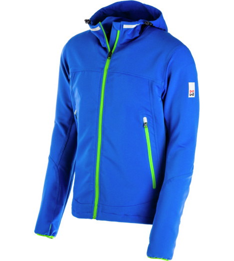 foto di Giacca blu in Softshell Summer
