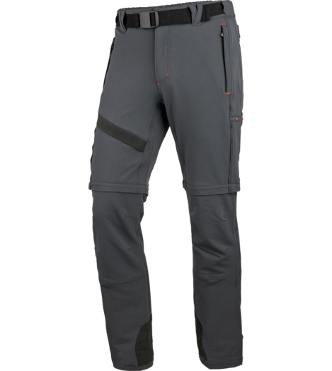 Photo de Pantalon de Travail Action Zip-Off Würth MODYF anthracite