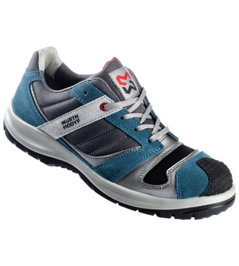 Foto de Zapato de Seguridad S1P Stretch X azul