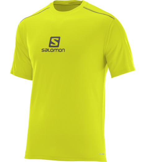 foto di T-shirt Stroll Logo alpha yellow