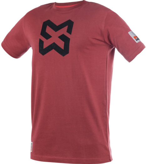 Photo de Tee-Shirt Modyf X Finity Marsala Red