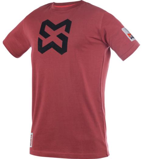 Foto von Kinder T-Shirt X-Finity Marsala Rot