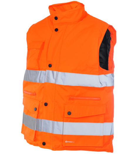 Photo de Gilet de travail  Würth MODYF matelassé haute-visiblité orange