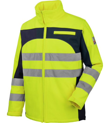 Foto van Würth MODYF softshell 2-in-1 high-visibility werkjas, geel
