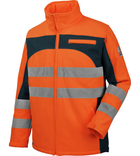 Photo de Softshell de travail Würth MODYF haute-visibilité orange