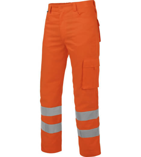 Foto de Pantalón de Trabajo Térmico Alta Visibilidad 2/2 Naranja
