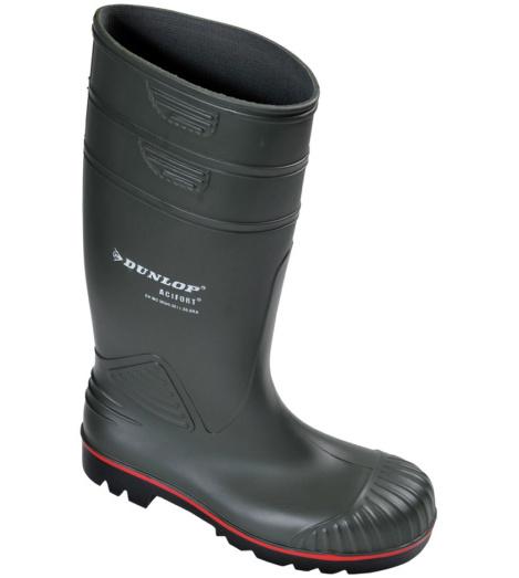 Foto de Bota de Impermeable Dunlop Acifort S5 SRA Verde