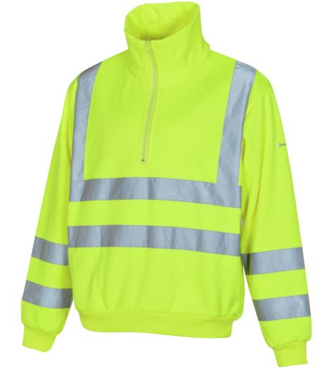 Photo de Sweat de travail Würth MODYF haute-visibilité jaune
