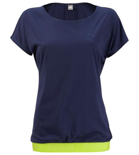 foto di T-shirt donna Puma Transition Tee blu