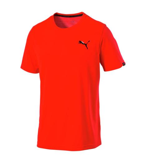 foto di T-shirt Puma Active Tee rossa