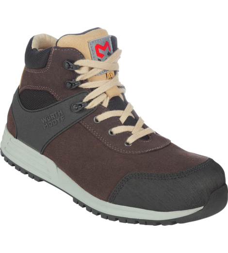 Photo de Chaussures de sécurité montantes S3 SRC ESD Nature Würth MODYF brunes