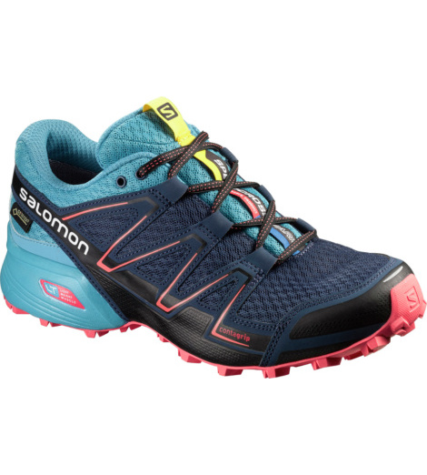 foto di Salomon blu Speedcross Vario GTX donna