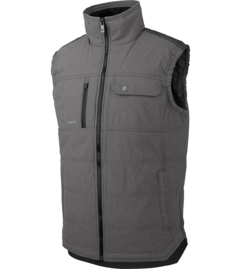 Photo de Gilet de travail matelassé Würth MODYF Nature gris