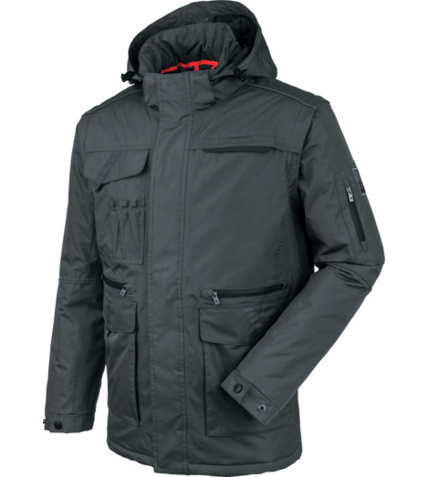 Photo de Blouson de travail 2en1 Würth MODYF Draco gris