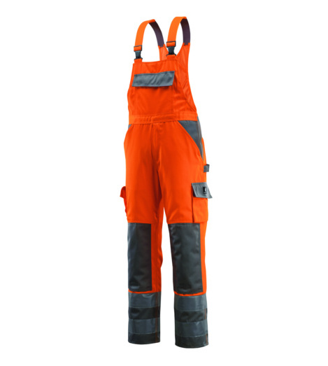 Foto von Warnschutz Arbeitslatzhose Mascot Barras EN 20471 2.2 Länge 90 orange
