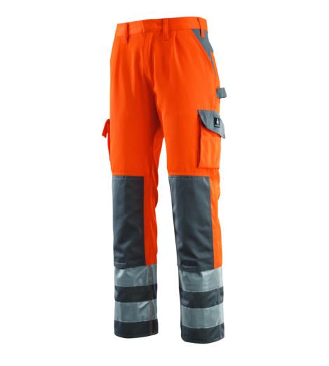 Foto von Warnschutz Bundhose Mascot Olinda EN 20471 2.2 Länge 82 orange