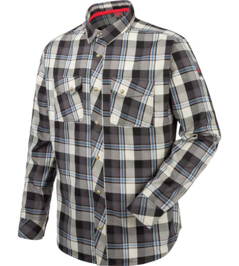 Chemise sportive à manches longues pour le travail, tissu respirant et facile d'entretien, très confortable et léger.