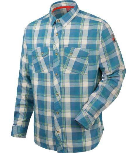 Foto de Camisa de Trabajo Nature Azul