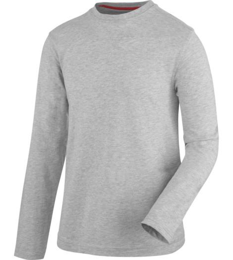 Foto van Pro werk-T-shirt met lange mouwen Würth MODYF grijs