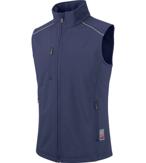 foto di Gilet City in softshell navy