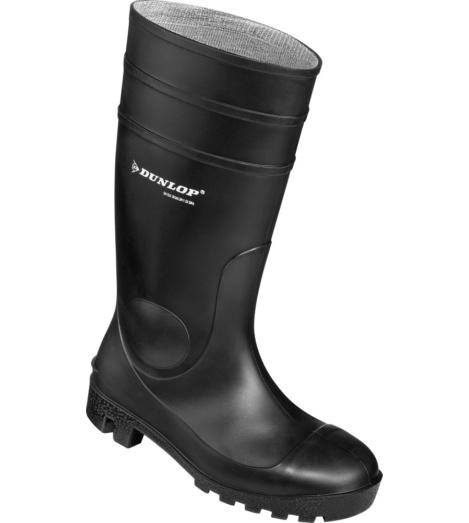 Foto van Dunlop zwarte veiligheidslaarzen S5 SRA Protomastor