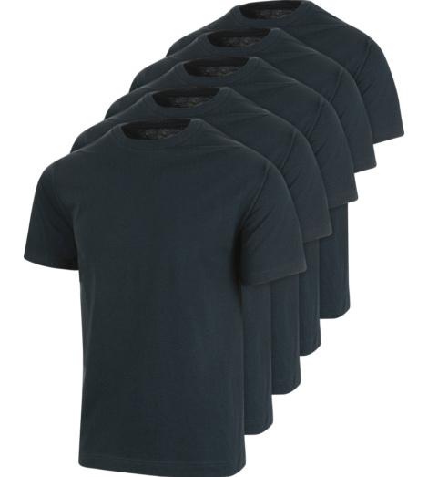 Foto van Marineblauwe Pro Würth MODYF werk-tee-shirts, set van 5