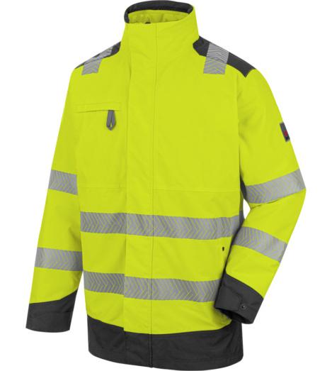 Photo de Parka de travail haute-visibilité jaune fluo 4 en 1 Würth MODYF