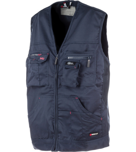 Photo de Gilet de travail Stretchfit HR Würth MODYF marine